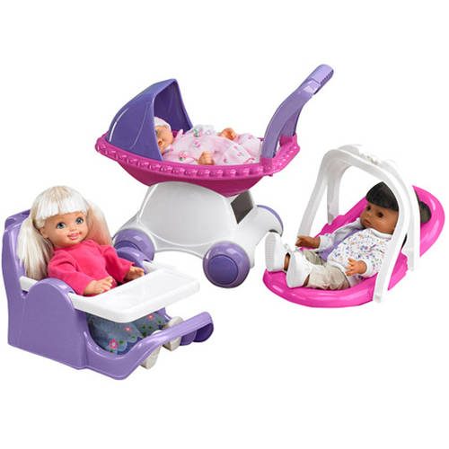 American Plastic Toys - My Doll 3-Piece Play Set