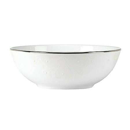 - Lenox Opal Innocence Scroll Dinnerware Place Setting Bowl