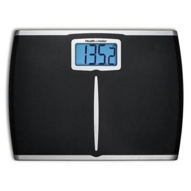 Jarden Home Environment HDM459DQ-05 Extra Wide Weight Tracking Bath Scale - Black