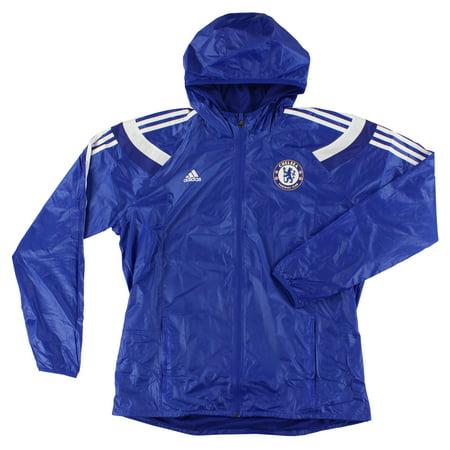 Adidas Mens Chelsea Anthem Jacket Blue XL (Adidas Chelsea Jacket)