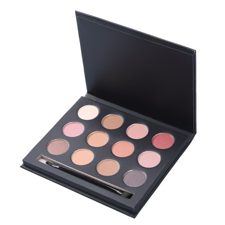 Pretty See 12 Colors Eyeshadow Palette Pro Matte Eye Makeup, Smokey Eyes Makeup](Pretty Cat Makeup For Halloween)