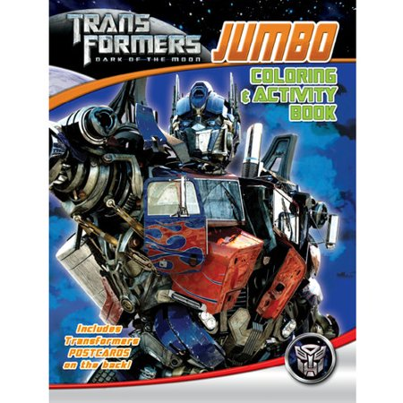 Transformers Jumbo Coloring and Activity Book - Walmart.com