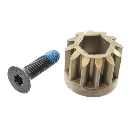 OEM Steering Shaft Pinion Gear Husqvarna TC 38 130 138 242 YT48 XLS (Husqvarna Shaft)
