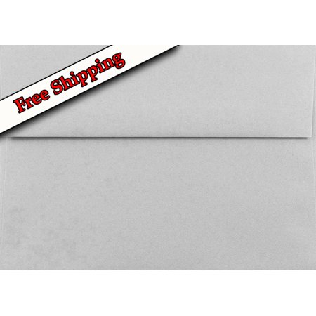 Gray Pastel 25 Boxed A1 Envelopes (3-5/8 X 5-1/8) for 3-3/8 X 4-7/8 Response Enclosure Invitation Announcement Wedding Shower Communion Christening Cards By - Wedding Envelope Box