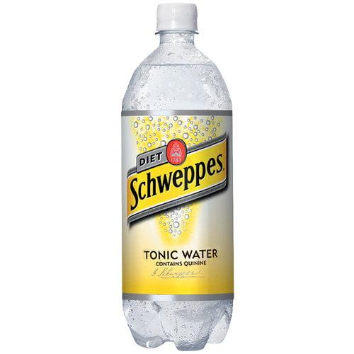 Schweppes Diet Tonic Water, 1 L