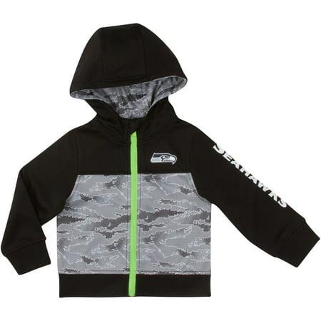 Infant Gerber Black/Gray Seattle Seahawks Jacket ()