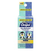 2 Pack Orajel Non-Med Baby Teething Day & Night Cooling Gels 0.18 oz Twin Pack