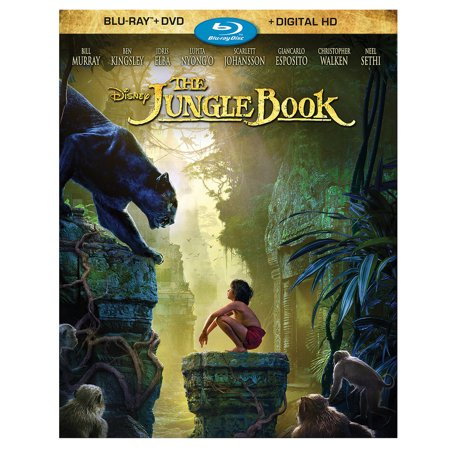 The Jungle Book (2016) (Blu-ray + DVD + Digital (George Of The Jungle 2 Tamil Dubbed)