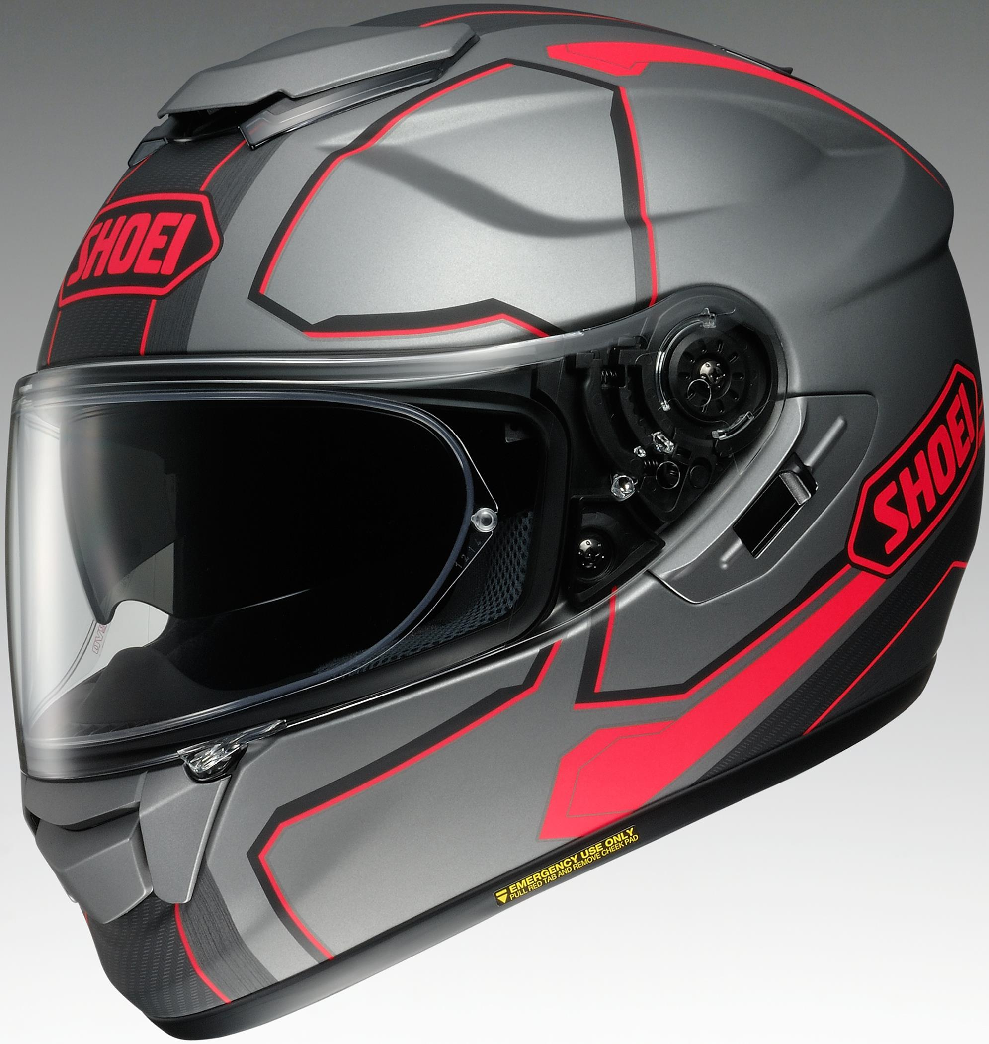 Shoei GT-Air Pendulum Helmet TC-10 (Gray, Medium)