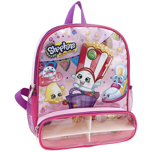 "Moose Enterprise Shopkins 12"" Backpack with Compartment Pocket"