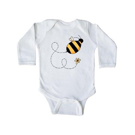 Buzzing Bee Long Sleeve Creeper](Bee Buzzing)
