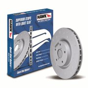 Hawk Performance Hus8182 Quiet Slot Brake Rotor
