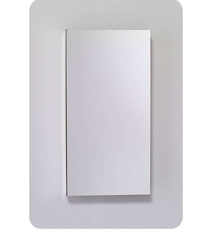 """Robern MC1630D819L M Series 15 1/4"""" Wide x 8"""" Deep Customizable Cabinet With Cabinet Hinge: Left, Style and Color: Satin White"""