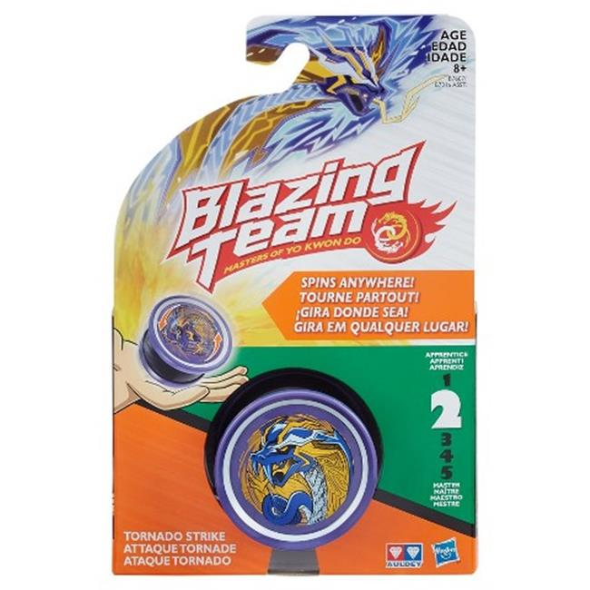 Hasbro HSBB7316 Blazing Team Tornado Strike Assorted, Pack of 8 by