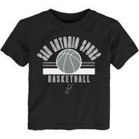Toddler Black San Antonio Spurs NBA T-Shirt