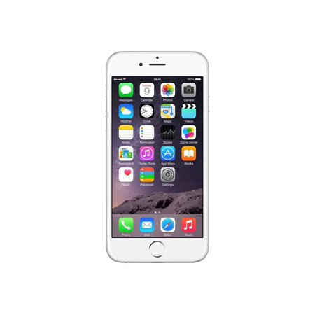 Refurbished Apple iPhone 6 16GB, Silver - GSM
