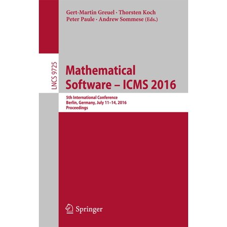 Mathematical Software – ICMS 2016 - eBook