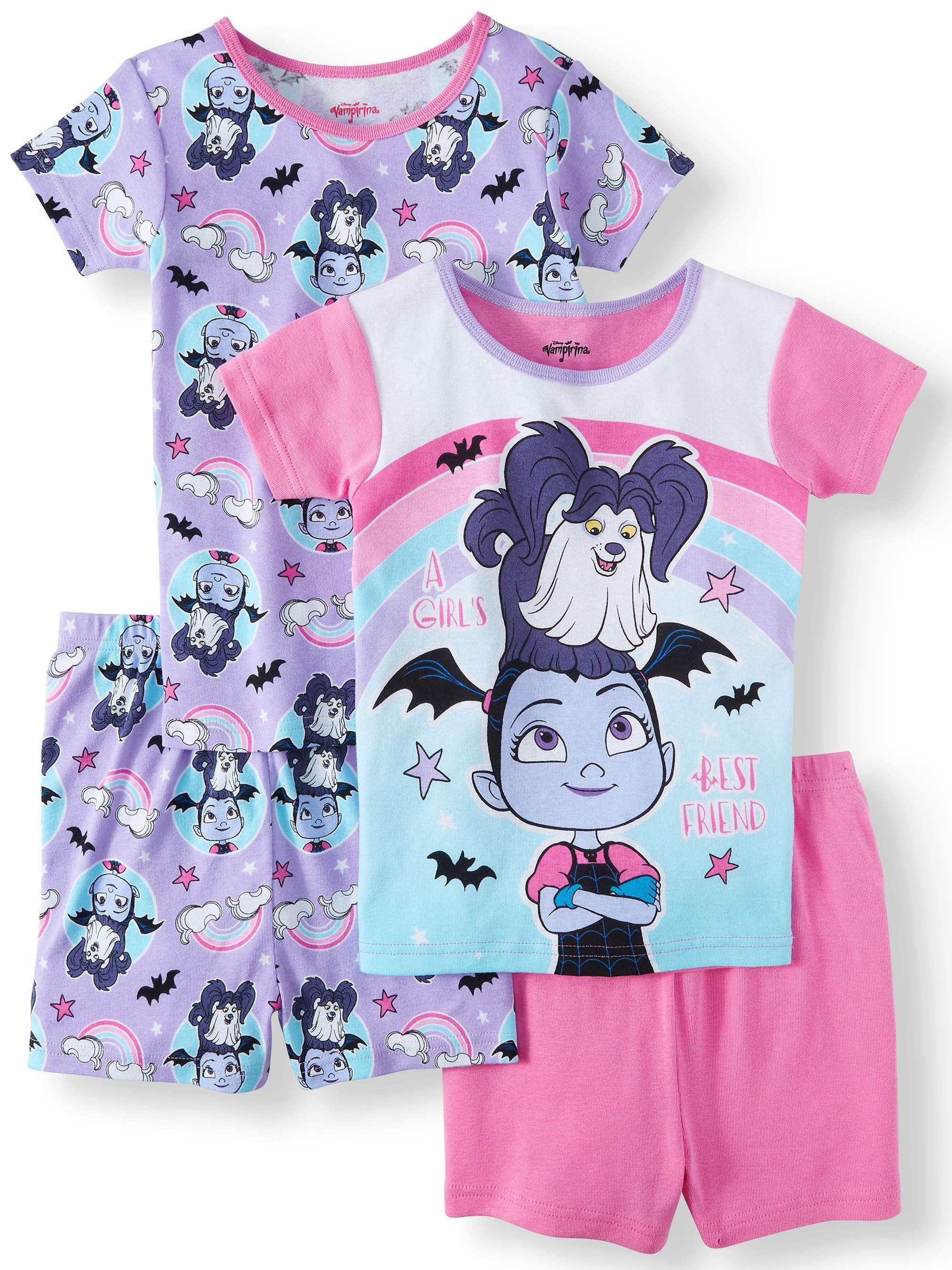 Girls' Vampirina 4 Piece Pajama Sleep Set (Little Girl & Big Girl)