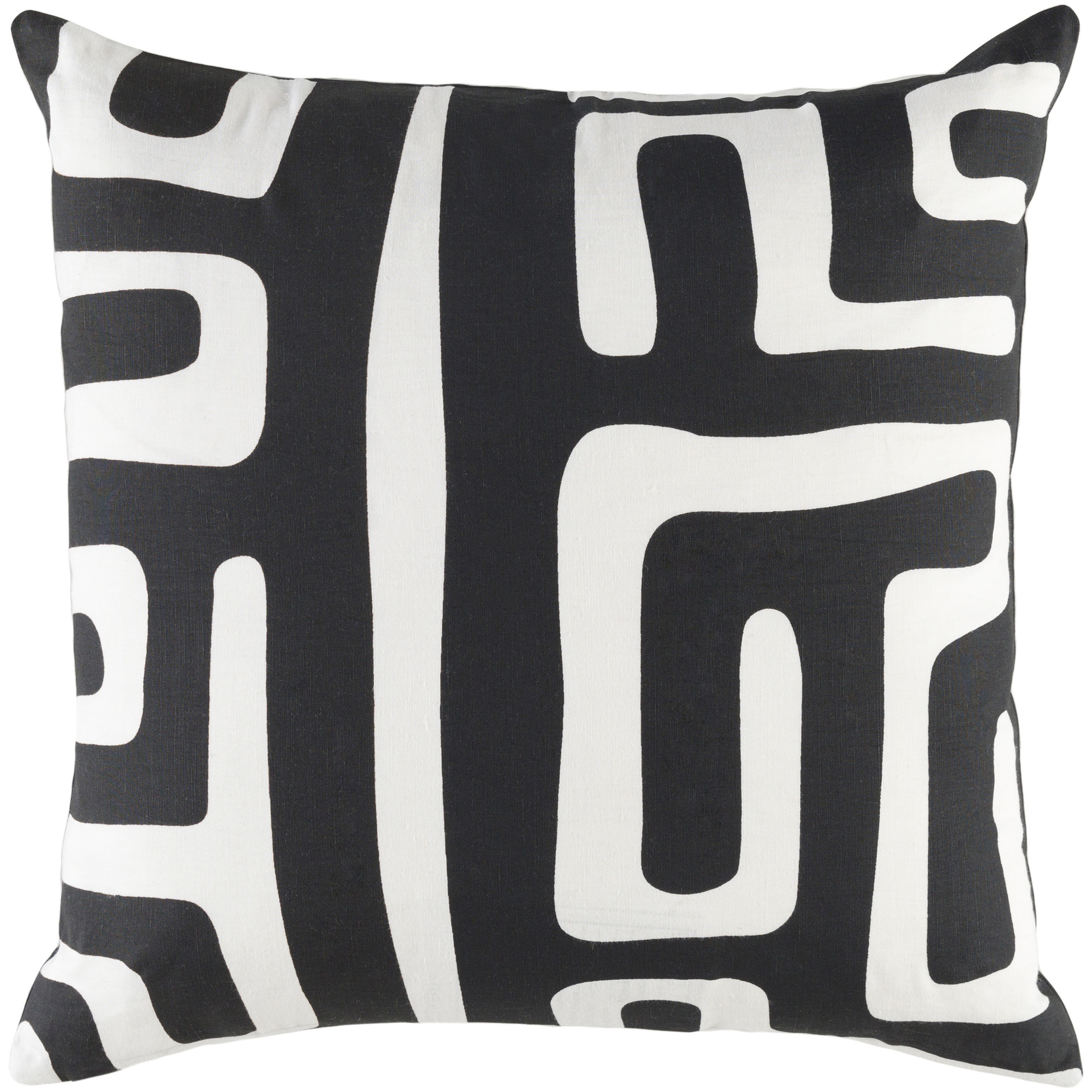 """Artistic Weavers Ethiopia Morocco 18"""" x 18"""" Pillow (with Poly Fill)"""