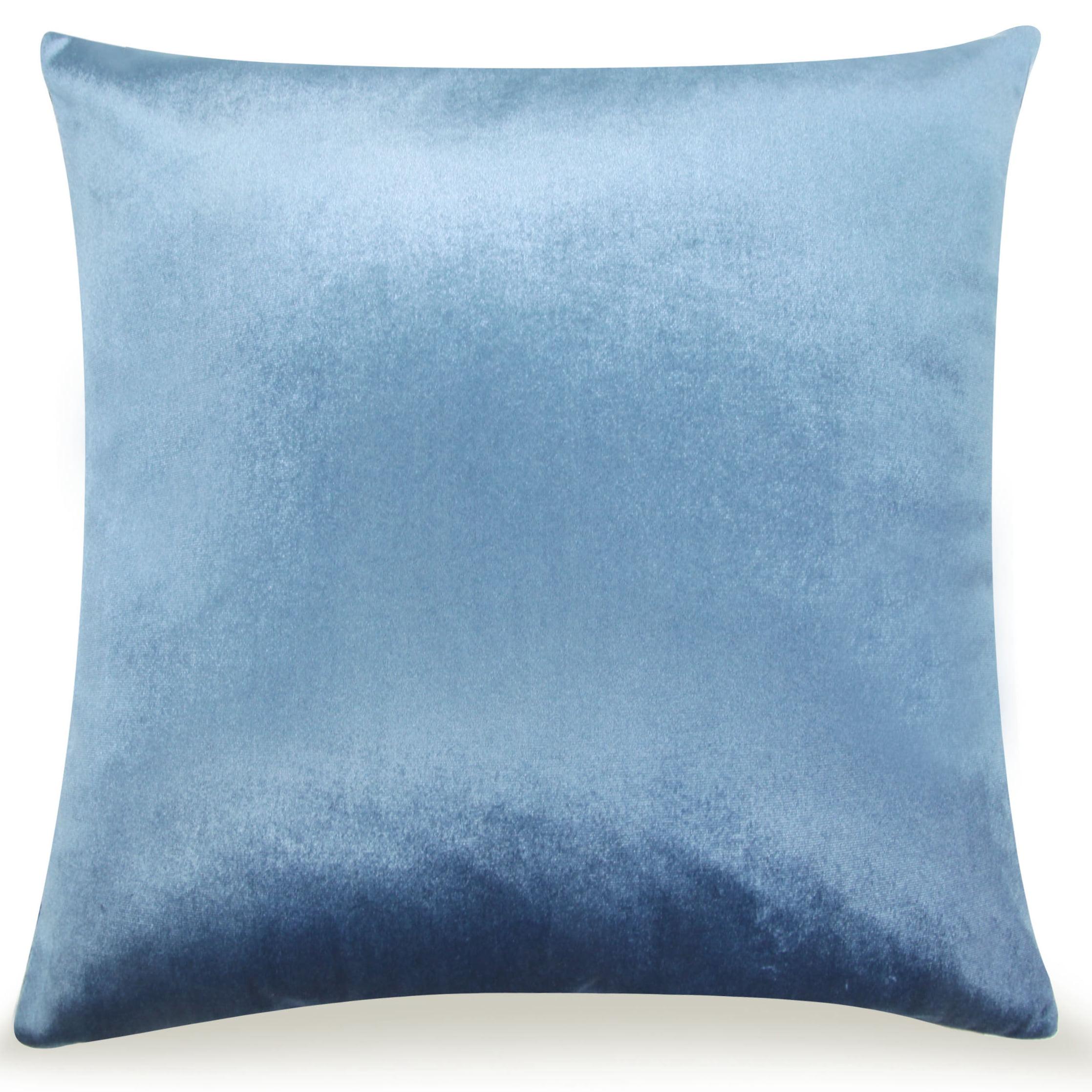 Pal Fabric Velvet Cushion Sham Throw Decroractive Sofa Pillow Cover 18x18 inches (LIGHT... by Pal Fabric