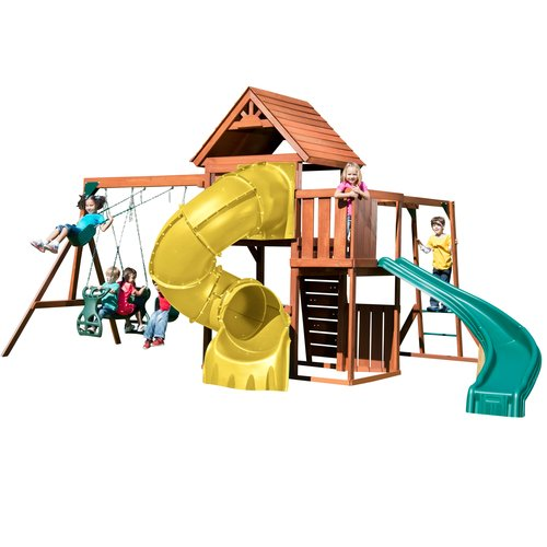 Swing-N-Slide Grandview Twist Deluxe Complete Swing Set