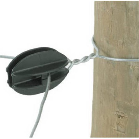 Dare Products BW-KK-10 Electric Fence Insulator, Corner, Black, Heavy-Duty, 10-Pk. - Quantity 1