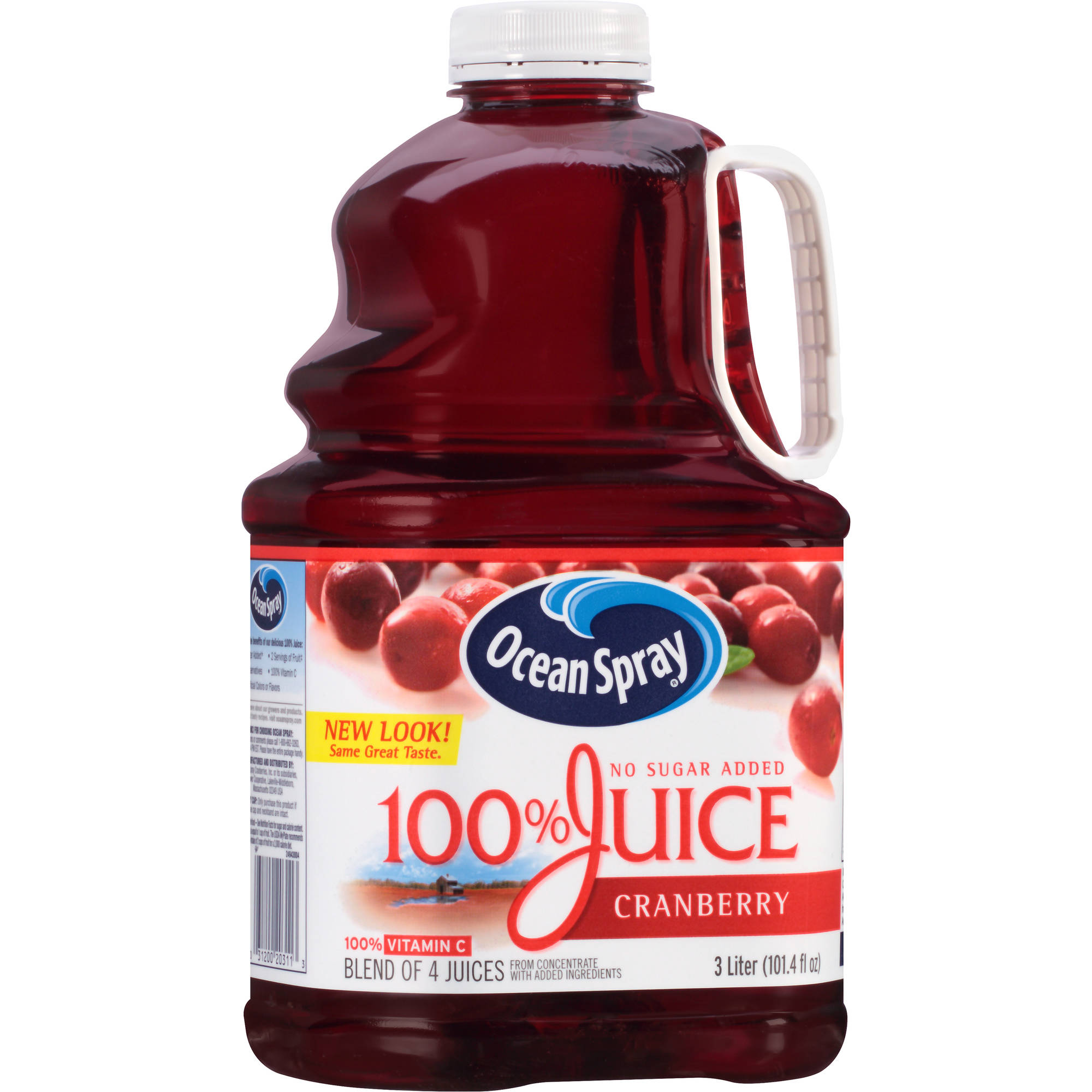 Ocean Spray 100% Cranberry 100% Juice, 101.4 oz