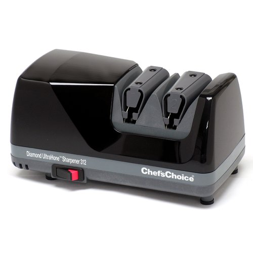 Chef's Choice Diamond Hone Ultra 2-Stage Plastic Electric Knife Sharpener by Chef's Choice