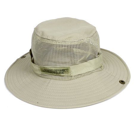 unique bargains men women adjustable hiking fishing cap