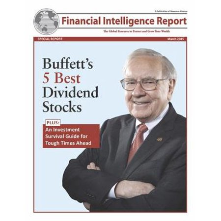Buffet's 5 Best Dividend Stocks - eBook