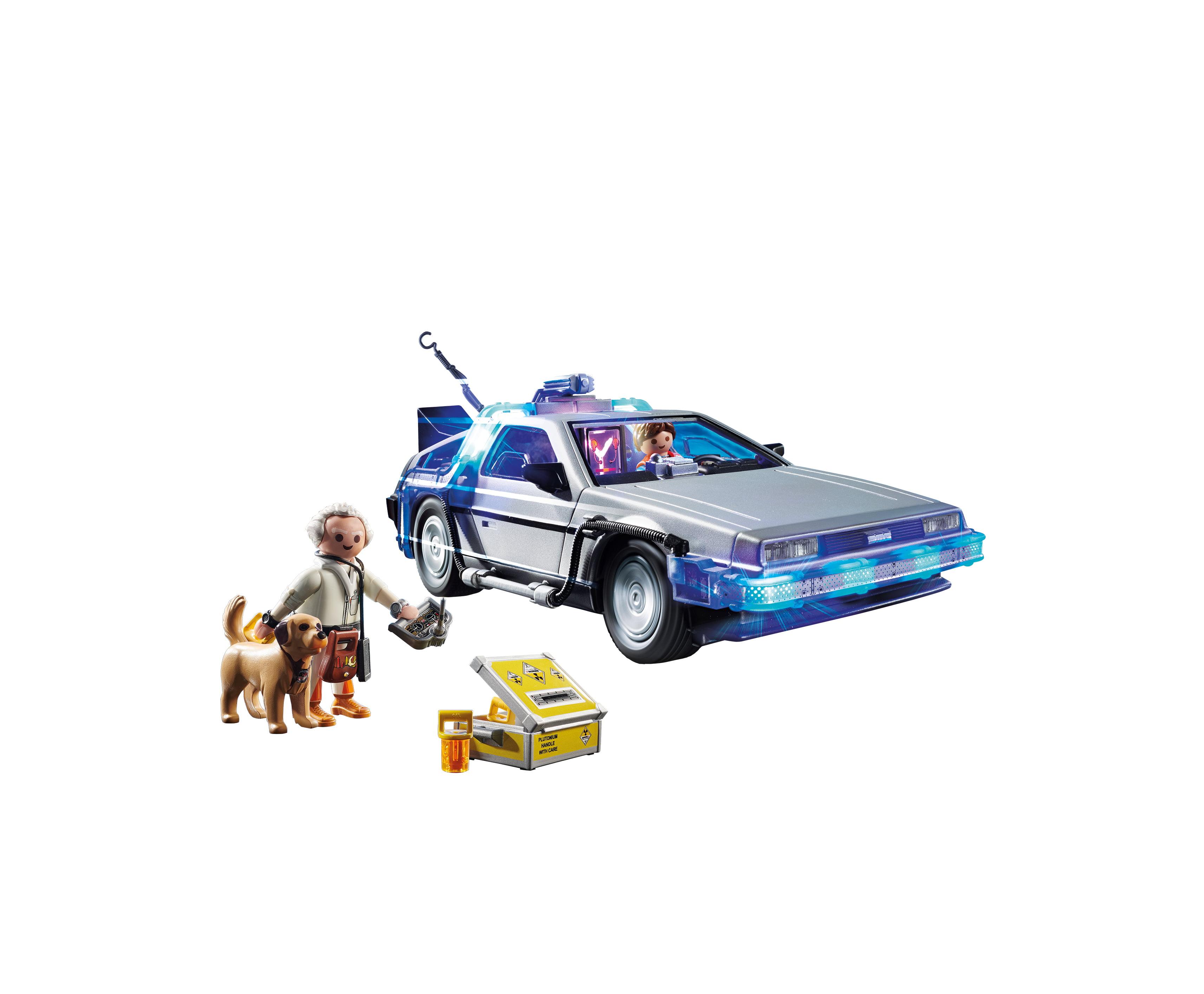 70317 back to the future DeLorean PLAYMOBIL