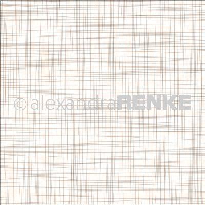 """Alexandra Renke Basic Design Paper 12""""X12""""-Copper Grid Weave"""