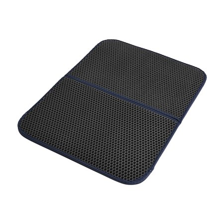 Eva Base - Premium Cat Litter Trapper Mat Pad Larger Honeycomb with Waterproof Base Layer EVA Foam Rubber 72 * 55cm / 28 * 22in