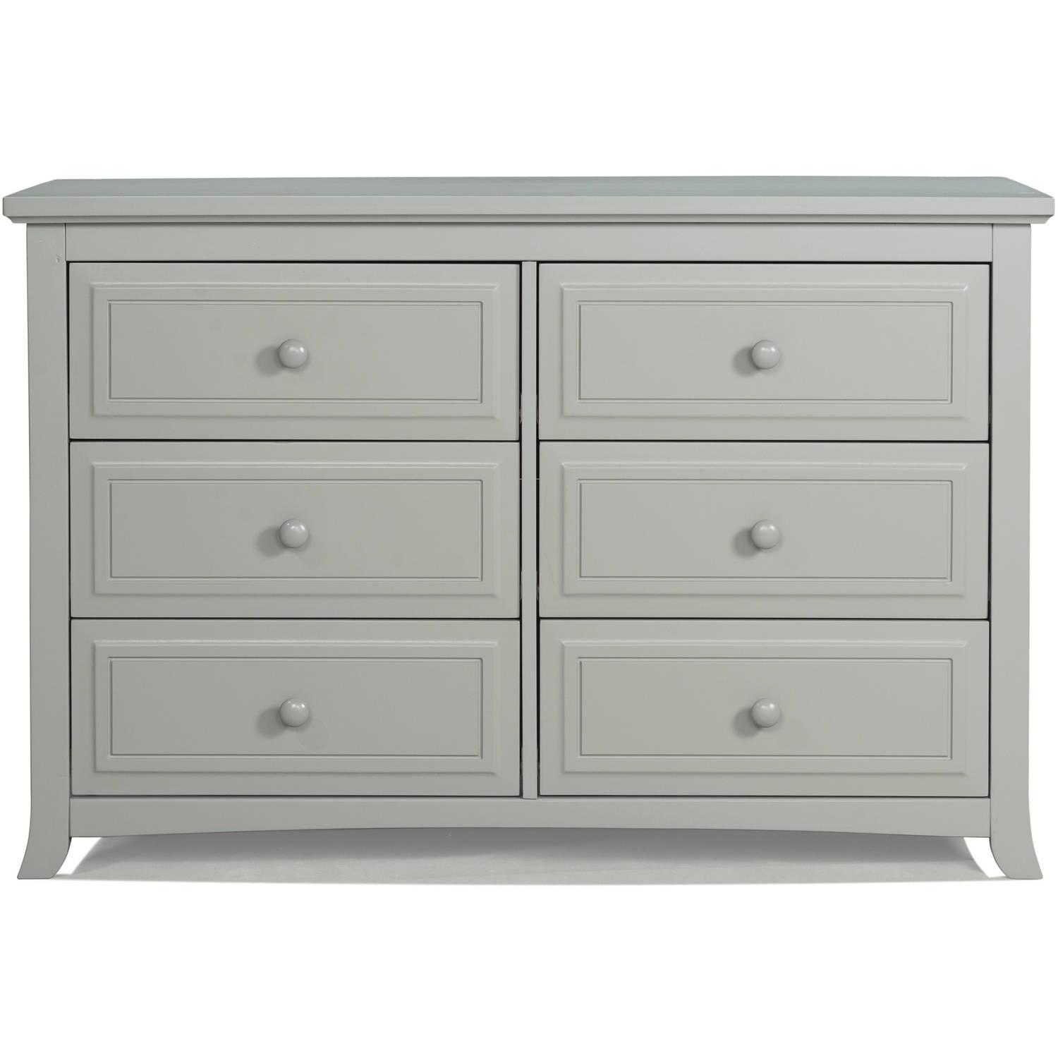 Graco Kendall 6 Drawer Double Dresser, Choose Your Finish ...