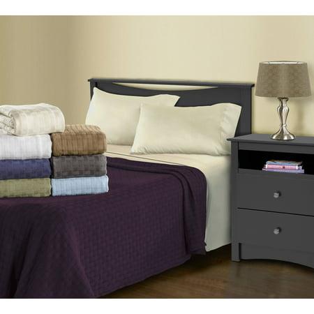 Katie Little Luxury Blanket - Superior Luxury Cotton Basket Weave Blanket