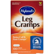 Hyland's Leg Cramp Caplets, Natural Calf, Leg and Foot Cramp Relief, #1 Pharmacist Recommended Leg Cramp Relief, 100 Count