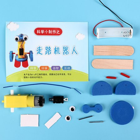 Mini DIY Assembly Ming Crawling Robot Kit Science Technology Toy Specification:as shown - image 4 of 5