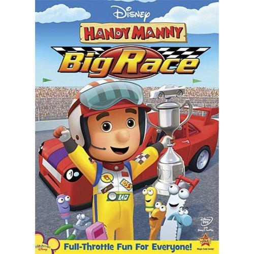 HANDY MANNY-MANNYS BIG RACE (DVD/WS 1.78/DD 5.1 SS/SP-BOTH)