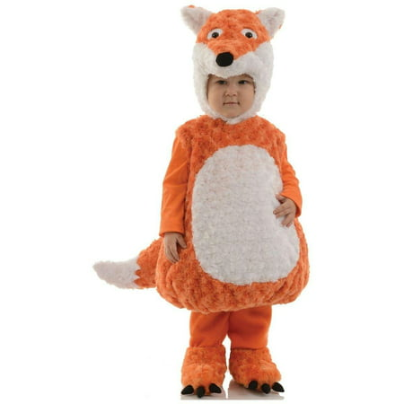 Belly Babies Plush Fox Toddler Costume Medium 12-24 Months - image 1 de 1