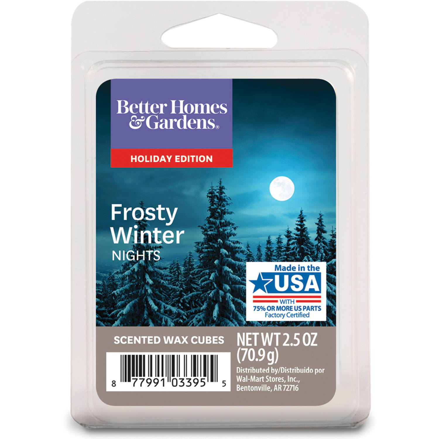 Better Homes & Gardens Frosty Winter Nights Scented Wax Cubes