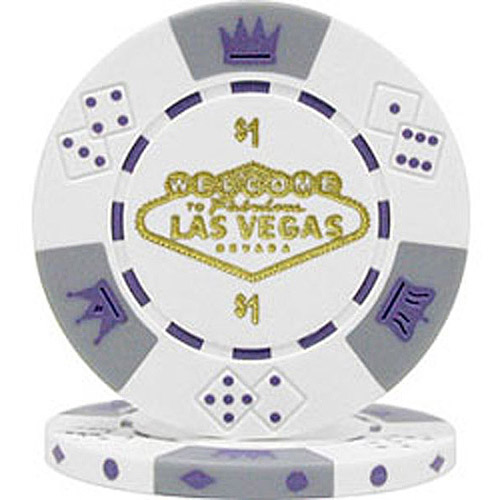 11.5g Fabulous Las Vegas Tri-color Poker