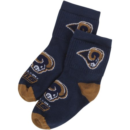 Classic St. Louis Rams For Bare Feet Infant Big Logo Name Sock - No - St Louis Rams Controller