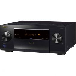 Pioneer VSXLX102 Elite 7.2-Ch. Hi-Res 4K Ultra HD HDR Compatible A/V Home Theater Receiver Black