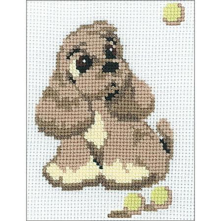 Cocker Spaniel Needlepoint - Cocker Spaniel Counted Cross Stitch Kit - 6