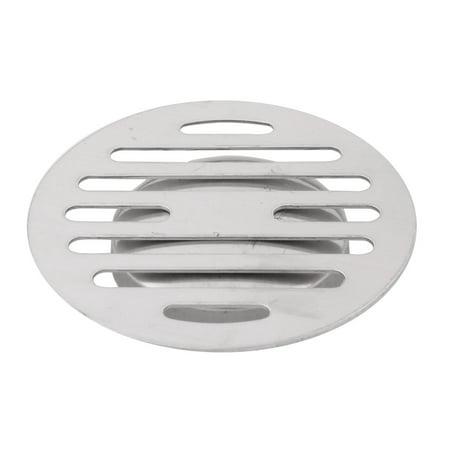 Bathroom Stainless Steel Round Waste Stopper Floor Drain Strainer Cover Cap