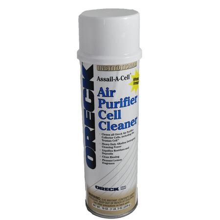 Oreck Air Purifier Cell Cleaner 19oz Can Walmart Com