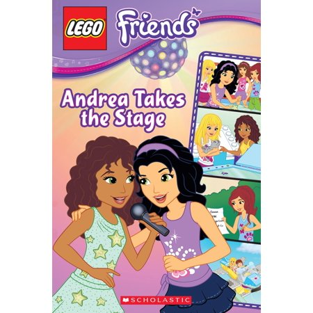 LEGO Friends: Andrea Takes the Stage (Comic Reader #2) - eBook