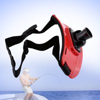 Stand Up Belt,Zerone 3 Colors Stand Up Belt Rotary Fishing Rod Holder Back Padded Fishing Fighting Rod Belt