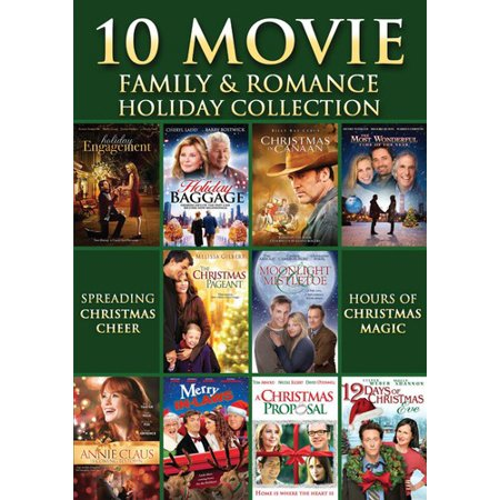 10 MOVIE FAMILY & ROMANCE HOLIDAY COLLECTION (DVD/3 DISC/WS) (DVD)