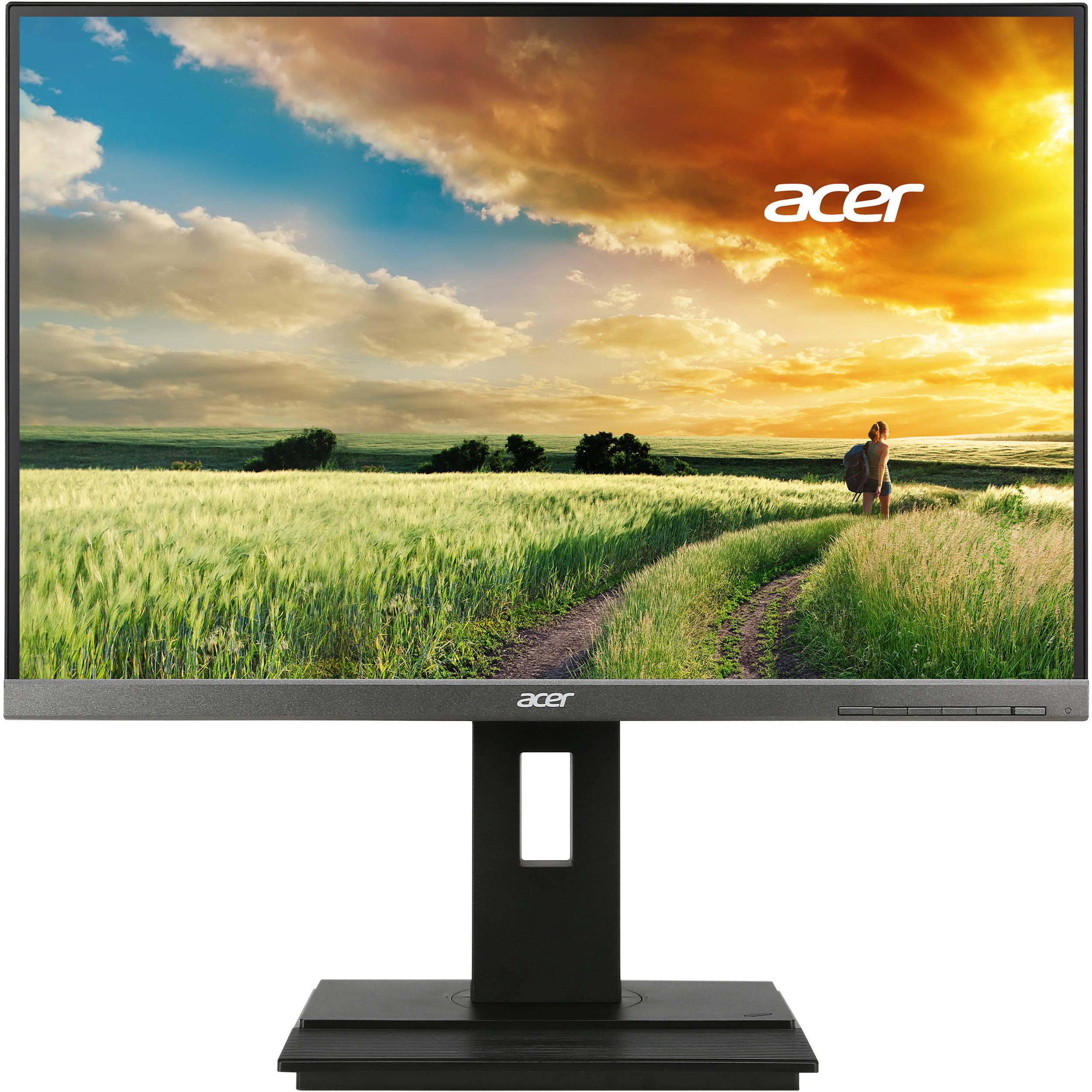 "Acer B6 24"" Widescreen LCD Computer Monitor WUXGA (1920 x 1200) 60 Hz 5 ms GTG | Manufacturer Refurbished"